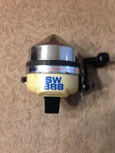Vintage ZEBCO SW888 saltwater protected spincasting reel.