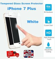 Full Rounded Tempered Glass Film Screen Saver Protector For iPhone 7 PLUS WHITE
