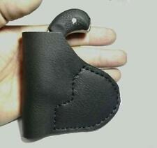 Inside Pocket Holster North American Arms Black Widow Magnum frame Black Leather