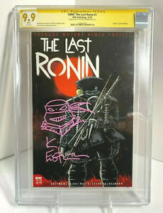 TMNT Last Ronin #1 First Printing CGC 9.9 MINT RARE Sign & Sketch Kevin Eastman