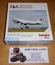 Boeing 747-300 Japan Asia Airways  1:500 Herpa Wings 503945 Privatsammlung (3)