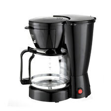 Coffee Maker 10 Cups Machine Drip Filter Glass Carafe Automatic Coffee Maker