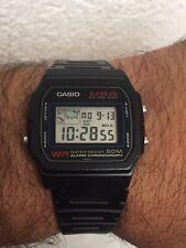 Vintage Casio USA W-54US Module 814 Watch Orologio Montre Uhrren