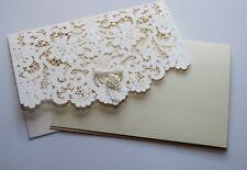 Glückwunschkarte zur Hochzeit Verlobung Handarbeit Text Perlmutt geprägt edel