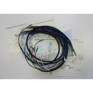 Kabelbaum Schaltplan Kabelsatz für Simson Schwalbe  Star  KR51  SR4  VAPE