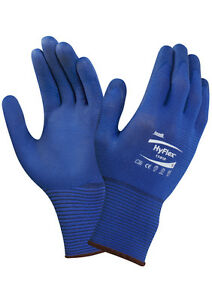 Ansell HyFlex 11-818 - Ultralight Weight Fortix Nitrile Foam Palm Gloves