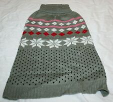 New listing Scenereal Christmas Winter Knit Pullover Dog Sweater - Medium