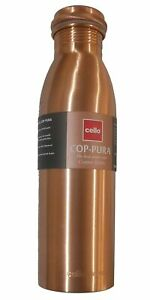 Cello Copper Bottle, Set of 1, 1000 ml pack of 1