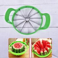 Watermelon Cantaloupe Melon Cutter Stainless Steel Kitchen Fruit Divider Slicer√