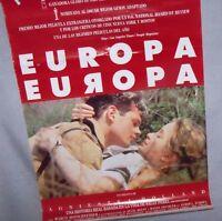 CARTEL POSTER CINE ANTIGUO Europa, Europa 1990 Agnieszka Holland Julie Delpy