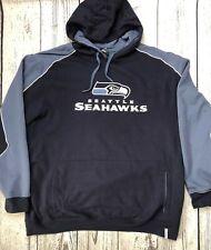 Reebok Seattle Seahawks NFL Hoodie Sweatshirt Size XXL    2002
