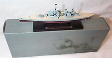 HMS Prince of Wales war Ship Mounted on display Plinth 1:1250 Scale  mib