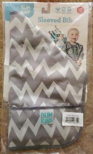 BUMKINS Long Sleeved Bib Baby Toddler Waterproof Washable Stain Odor Resistant