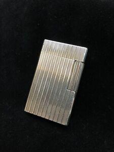 Dupont Feuerzeug Silber groß