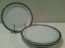 VINTAGE DELTA AIR LINES INTERNATIONAL FIRST CLASS CHINA PLATES by AMKO 4 pc set