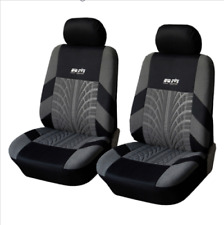 Universal Fit Polyester Seat Covers 2pcs for Most Car Auto Interior Deco