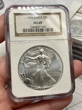 1996 $1 American Silver Eagle NGC MS69 Key Date