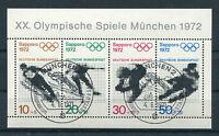 Bund Block 6 gestempelt ESST München BRD 684 - 687 Olympische Spiele used