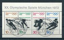 Bund Block 6 gestempelt ETSST München BRD 684 - 687 Olympische Spiele used