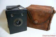 Serviti 1930s Kodak Brownie popolari 620 Rotolo Film Box Videocamera + Custodia - 120