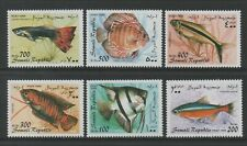 Thematic Stamps Animals - SOMALI REP 1998 FISHES 6v mint