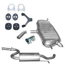Mittelschalldämpfer   Endschalldämpfer  Auspuff VW Touran 1.6FSi +Montagesatz