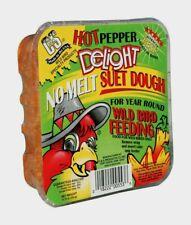 C&S Products HOT PEPPER DELIGHT Suet 11.75 oz. Assorted Species Wild Bird 12553