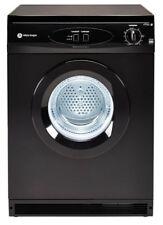 White Knight C44AB Vented Dryer (Standing) - 6KG, Black