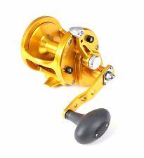 Avet LX 6/3 Lever Drag  JIGGING Reel, 2 SPEED Gold LX6/3-G