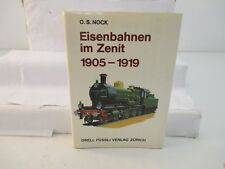 O.S. Warnock, Orell Füssli Verlag ferrovie nel ZENIT 1905-1919 vedi foto fw3927