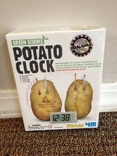 Green Science Potato Clock Kids Lab 4M New Sealed Package
