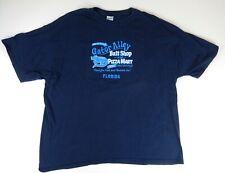 "Gator Alley Bait Shop Florida ""Best Tail in Town"" Blue T-Shirt Sz. 3XL, XXXL"