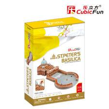 St. Peter's Basilica - (S.T.E.A.M) CubicFun 3D puzzle MC092h 144 pcs