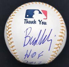 Bud Selig HOF 2017 Signed Commissioner Logo Baseball PSA/DNA
