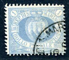 SAN MARINO 1894 31 gestempelt guter WERT 380€(S1920