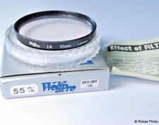 Used Wolfpro 55mm Skylight (1A) Filter