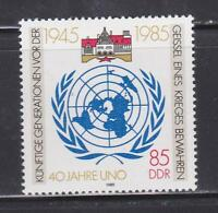 DDR329 - EAST GERMANY DDR 1985 ANNIVERSARY UNITED NATIONS MNH