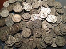 1 FULL ROLL STANDING LIBERTY QUARTERS 40 COINS $10 1925-1930 BETTER GRADES