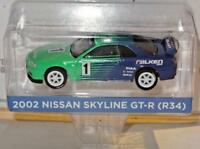 1/64 Greenlight TARMAC Works 2002 Nissan Skyline GT-R R34 #1 Falken Tires 51150