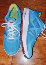 NIKE LUNARGLIDE 3 Running Athletic Shoe Youth 7 Turquoise White Yellow