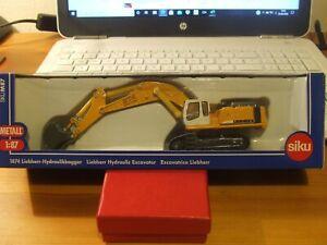 SIKU 1874 Liebherr 974 Litronic Hydraulic Tracked Excavator, 1:87, BNIB