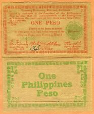Philippines, 1 Peso, 1944, Pick S673, WWII XF