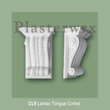 2 X plasterwrx Tallado A Mano Yeso Corbel Cl9 plasterwrx Ménsulas Para Pasillo