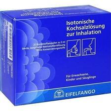 ISOTONISCHE Kochsalzlösung zur Inhalation 20X5ml PZN 2295979