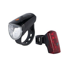15 LUX Fahrrad AXA Greenline LED Akku Lampen Set USB StVZO für GIANT KTM u.a.