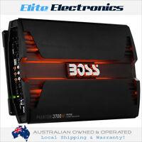 BOSS AUDIO PV3700 PHANTOM SERIES 5 CHANNEL CH 3700W CLASS AB CAR MPLIFIER AMP