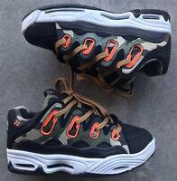 Osiris Skateboard Shoes D3 2001 Men's Size 6 Black Camouflage