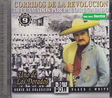 Paco Regalado Corridos de la Revolucion CD New Nuevo sealed