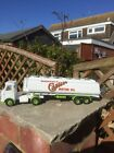 Dinky Super Toy 945 AEC Tanker restored and Castrol Oils