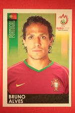Panini EURO 2008 N. 110 BRUNO ALVES PORTUGAL NEW With BLACK BACK TOPMINT !